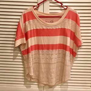 Free People Lacey Stripes Tee
